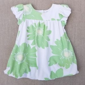 BABY GAP Daisy Flower Bubble Dress 18-24 Mos Girls